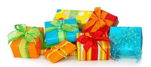 Много подарков для всех